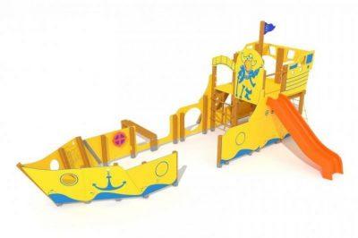 Žaidimų kompleksas Piratų laivas R4262DP
