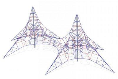 Karstynė dviguba piramidė R4975