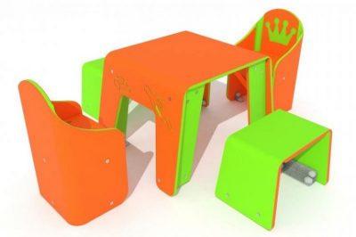 Stalas su kėdutėmis R5026